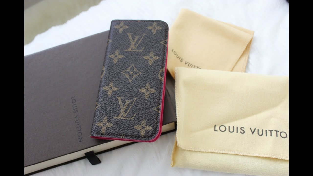 save off bc648 48ea2 Louis Vuitton IPhone 6 Folio Case Unboxing