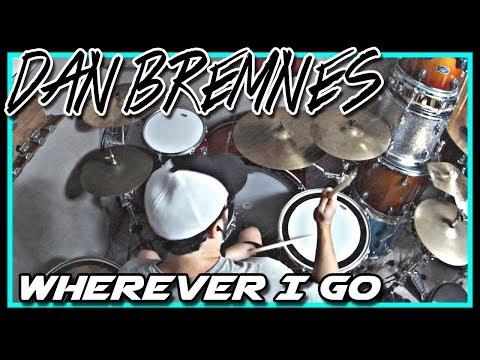 """Wherever I Go"" by Dan Bremnes - Drum Cover - 28"" Kick Drum"