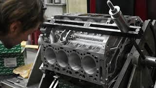 Расточка блока цилиндров от BMW X5 [прямая трансляция из цеха]