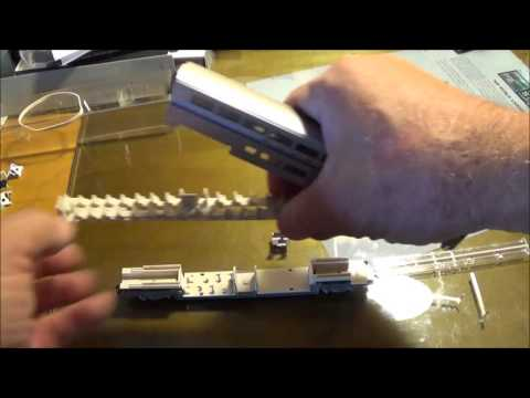 N Scale Kato Passenger Light Kit Install