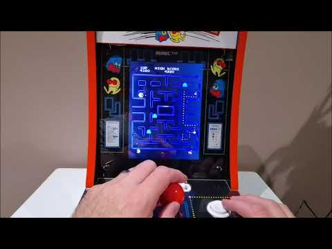 Arcade1Up Pac-Man 40th Edition Counter-cade Review from ImpulseGamer