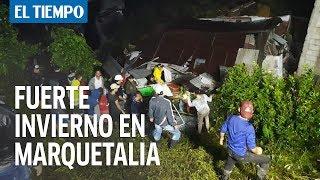 El masivo adiós a las 12 víctimas de la tragedia en Marquetalia | EL TIEMPO