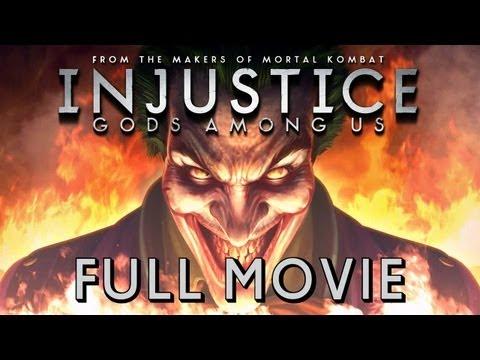 Injustice: Gods Among Us - FULL MOVIE (2013) All Cutscenes TRUE-HD QUALITY