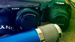 Мой набор для Видео Съемки! Камера/Микрофон и т.д... SerGo