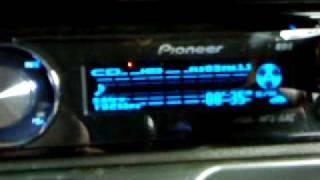 Pioneer DEH-P5100UB (playing DJ Hazard and Distorted Minds- Mr Happy)