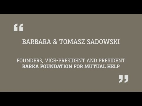 Barka Foundation  2014 BNP Paribas Special Prize winner for Individual Philanthropy
