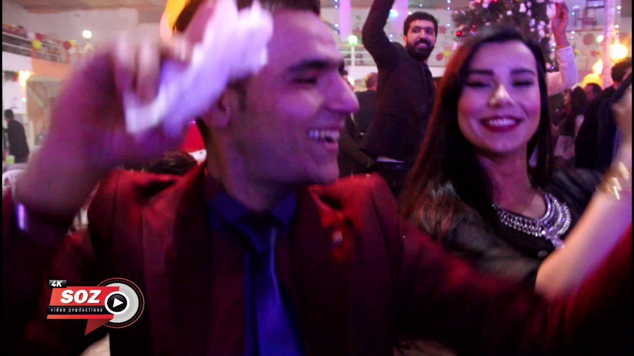 db5fab8f6 أجمل حفلة في راس السنة بي كوباني صالة نيروز 2019 مع الفنانين Video-Soz