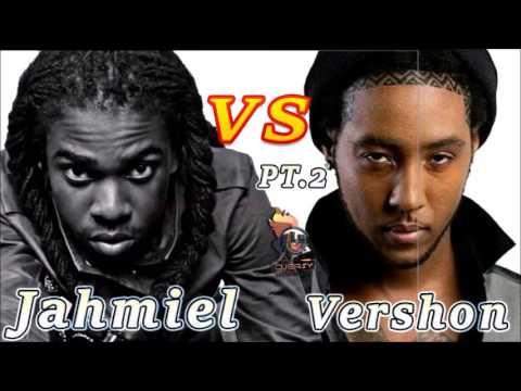 Jahmiel Vs Vershon  (The War Continues)  Mix by Djeasy