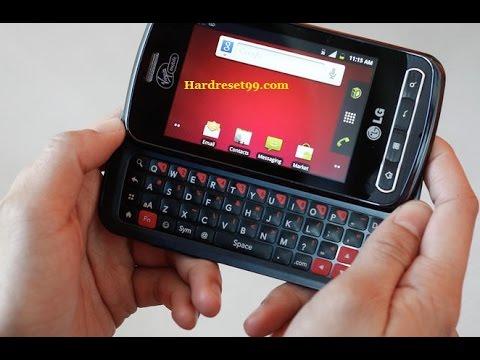 LG Optimus Slider Hard reset, Factory Reset & Password Recovery