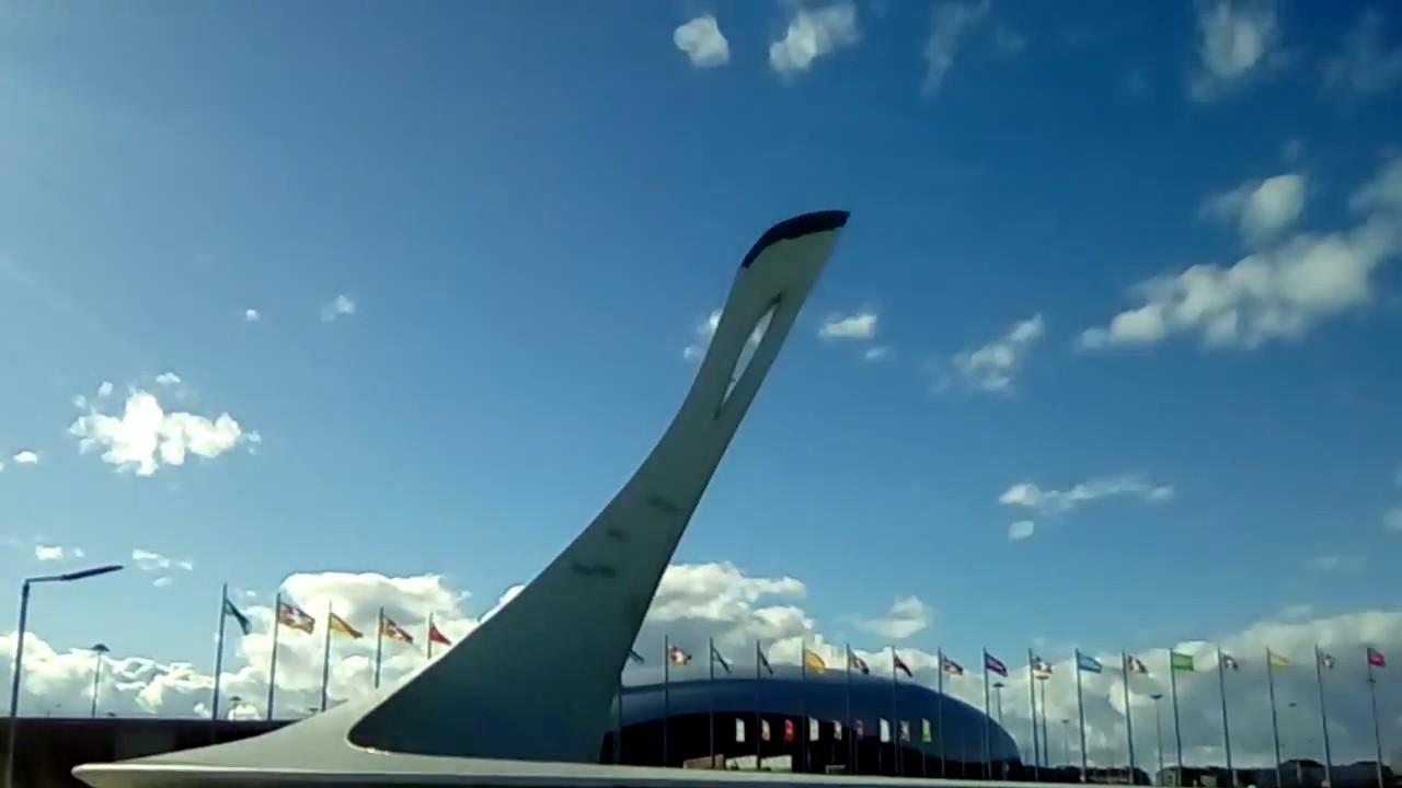Сочи олимпийские объекты видео большой член девушек