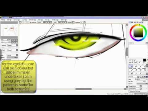 How To Make Undertakers Eyes Kuroshitsuji