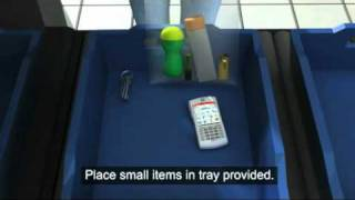 Hand luggage security video
