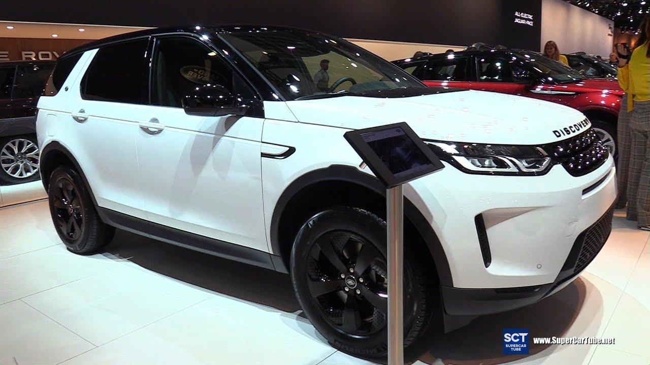 Chi tiết mẫu xe Land Rover Discovery Sport D150 tại triển lãm xe