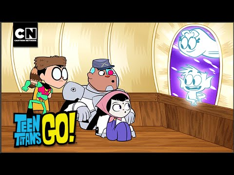 Beast Boy And Starfire Are Ghosts | Teen Titans Go! | Cartoon Network