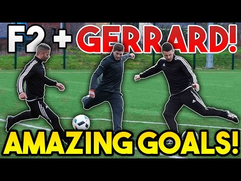 Thumbnail: Steven GERRARD + F2Freestylers EPIC Shooting Session! | AMAZING GOALS!