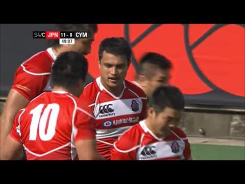 Craig Wing try vs Wales 2013