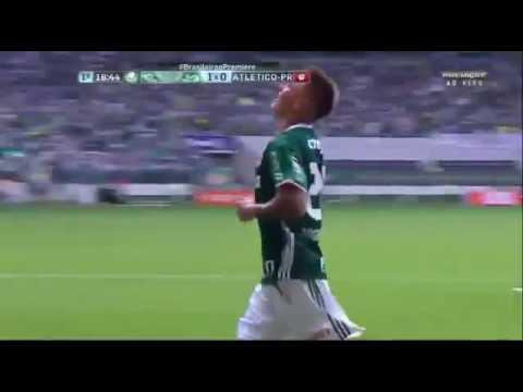 Palmeiras 4 x 0 Atlético PR   Brasileirão 2016