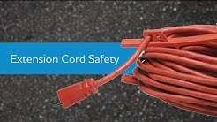 Extension Cord Safety - Supervisor Safety Tip Series