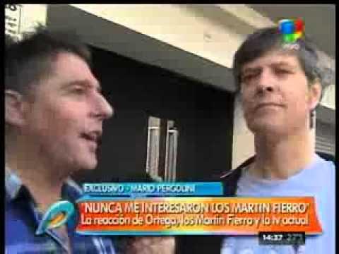 """Mario Pergolini: """"Siempre dije que los Martín Fierro son una porquería"""""""
