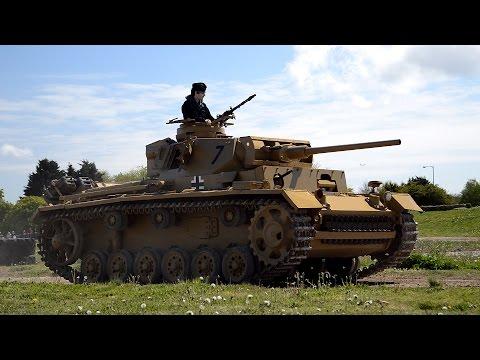 Panzer III driving at Tiger Day 2017