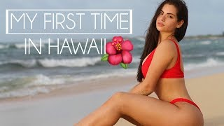 My first time...IN HAWAII♡ TRAVEL VLOG
