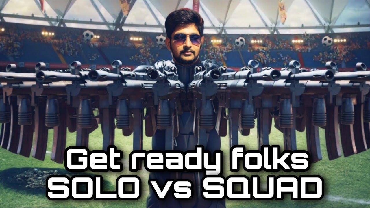 Solo vs Squad Rush Game Play in Telugu || M416 Glacier Upgraded || Stream No:90 || Heros Gaming