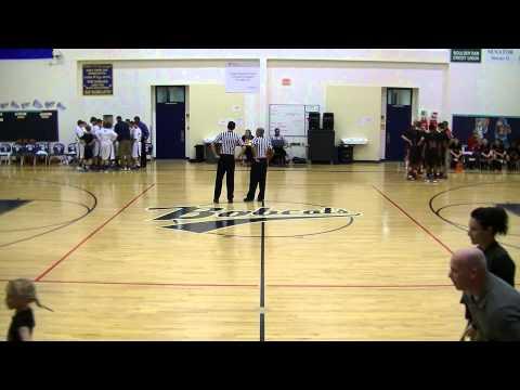 Garrett Basketball (v. Brown 1st Half) - 2/3/14