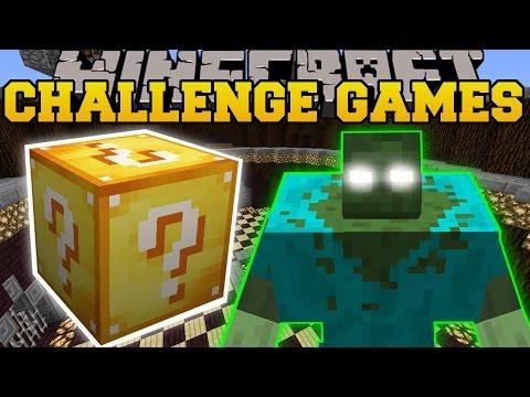 Minecraft: MUTANT CREATURES POKEMON CHALLENGE GAMES - Lucky Block Mod - Modded Mini-Game