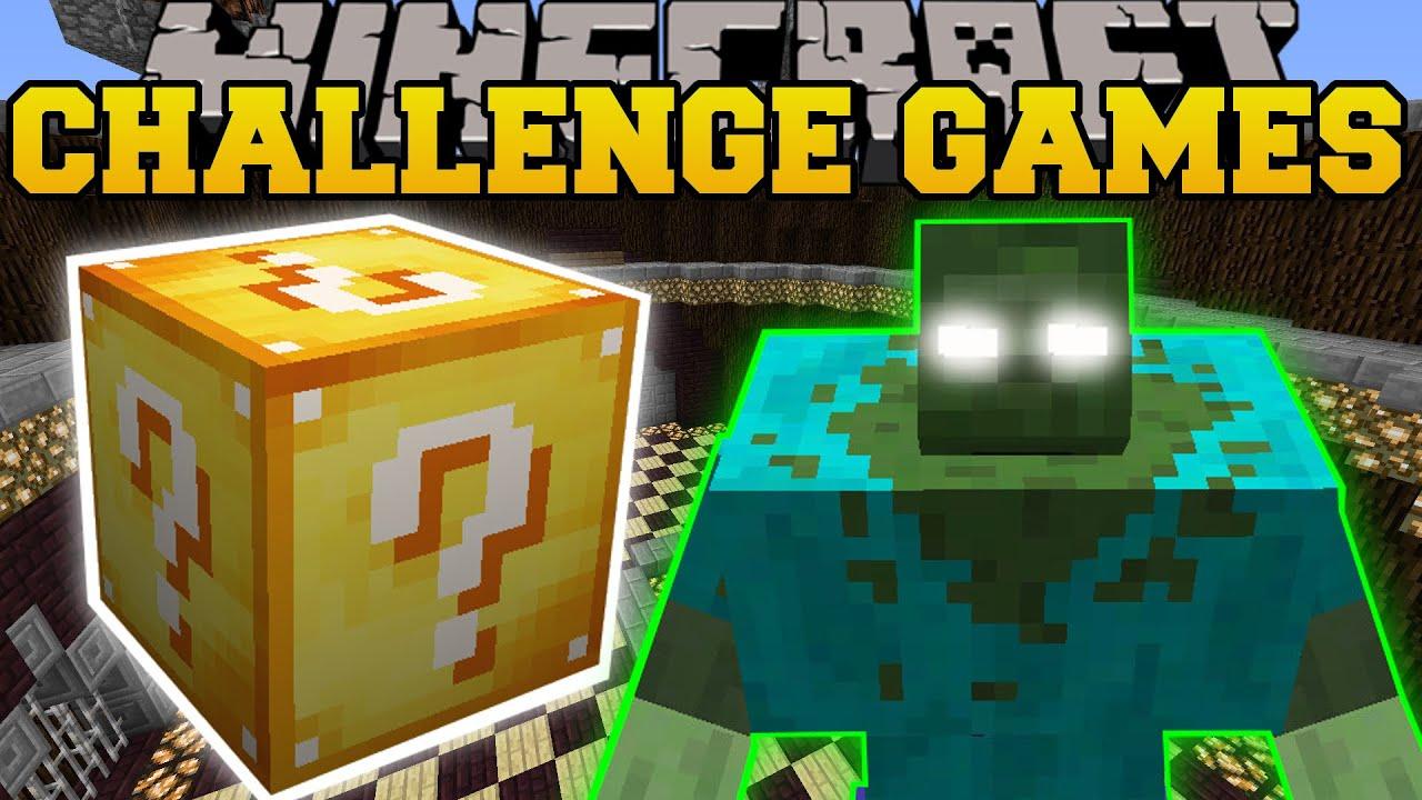 Minecraft Mutant Creatures Pokemon Challenge Games