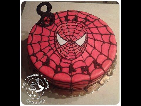 spider man cake tort ze spider manem spiderman spider man youtube. Black Bedroom Furniture Sets. Home Design Ideas