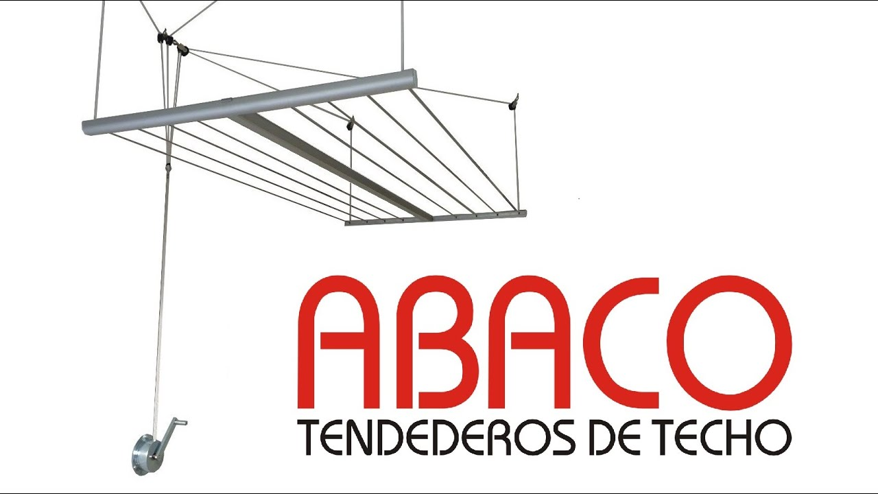 Instalaci n de tendedero colgante en techo de yeso - Tendederos de techo con manivela ...