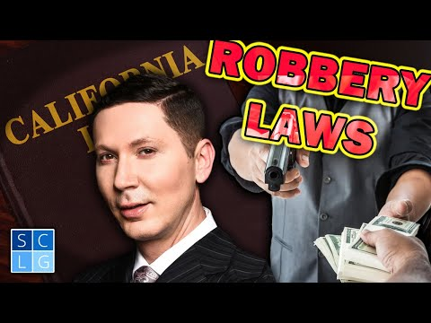 "Penal Code 211 - California ""Robbery"" Law (Legal Analysis)"