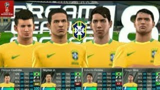21c548c93 How to hack BRAZIL National Team 2018 ☆ All Player ☆ Dream League Soccer  2018 ...