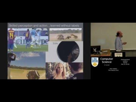 Rich Sutton - The Future of AI