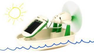 Mini 6-in-1 Solar Kit - Cool Science Toy