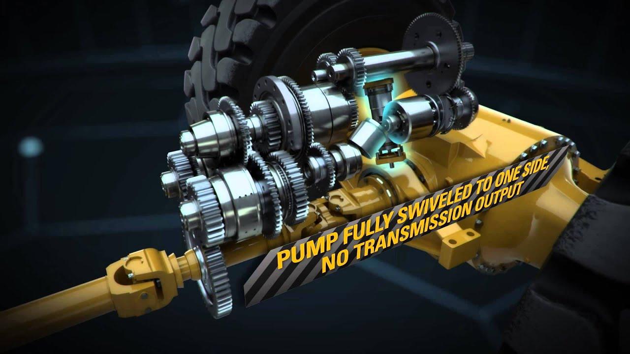 Cat 174 Medium Wheel Loader Xe Advanced Powertrain Explained