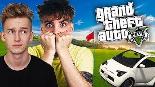 GTA V EKIPA w AKCJI #3 - GOLF Samochodowy! ⛳