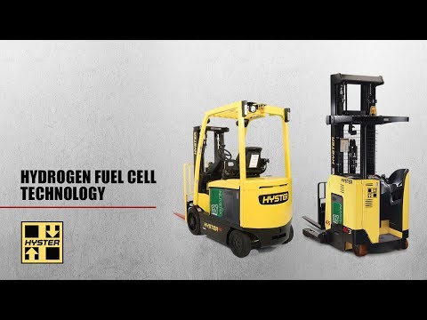 Hyster with Hydrogen Fuel Cell Technology