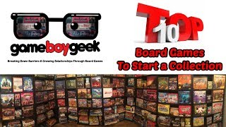 Top 15 Board Games To Start A Game Collection With The Game Boy Geek