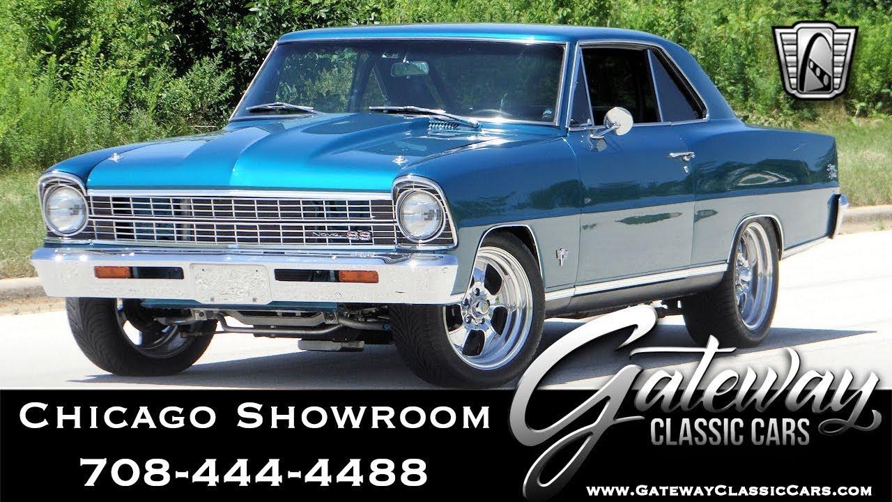 1967 Chevrolet Nova II - Gateway Classic Cars #1637 Chicago