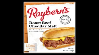 How Good are Raybern's Frozen Roast Beef and Cheddar Melt - WHAT ARE WE EATING? - The Wolfe Pit