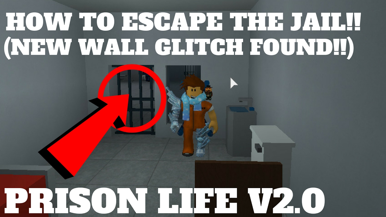Roblox Prison Life V2 0 How To Escape The Jail Wall Glitches