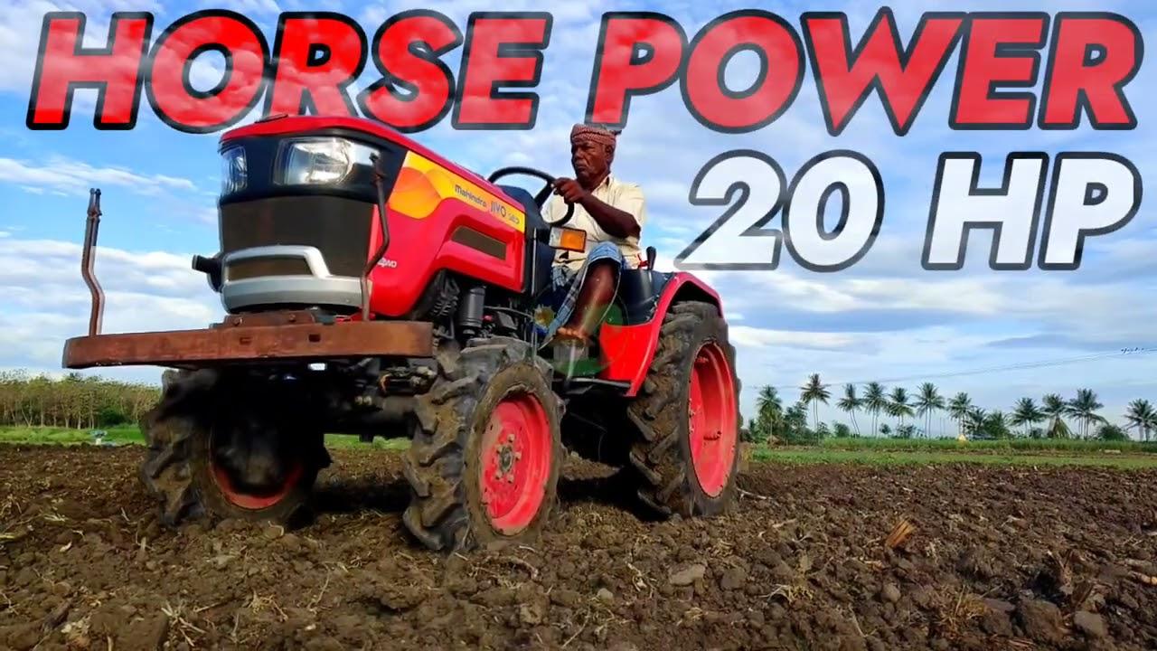 MAHINDRA JIVO 245 DI 4WD Driving Old Man   Very Comfortable Tractor Mahindra Mini Tractor