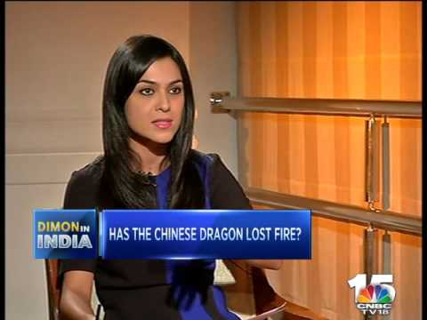 JAMIE DIMON, JP MORGAN in a CNBC-TV18 Exclusive (1)