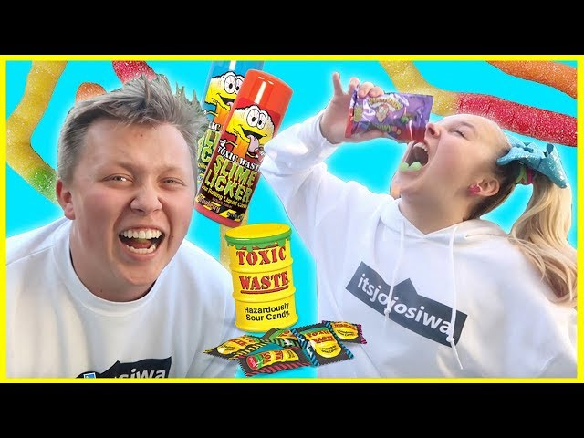 EXTREME SOUR CANDY CHALLENGE W/ MY BROTHER!!