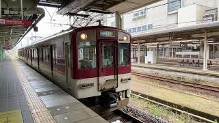 近鉄1259系 VC59  津新町行き普通  津駅出発