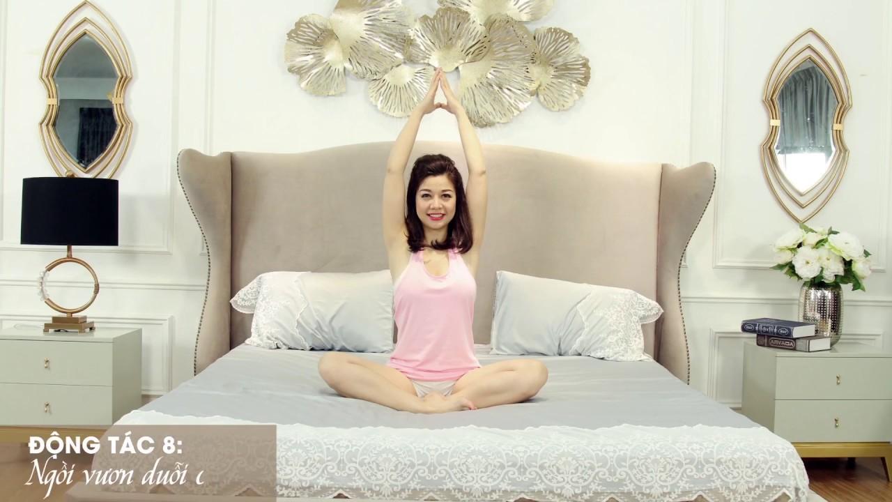 8 động tác yoga trên giường cho ngày mới tràn đầy năng lượng cùng Nội Thất Hoa  Phú