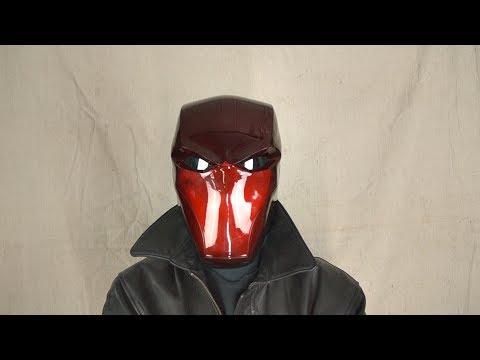 How To Make A Red Hood Helmet(metal)