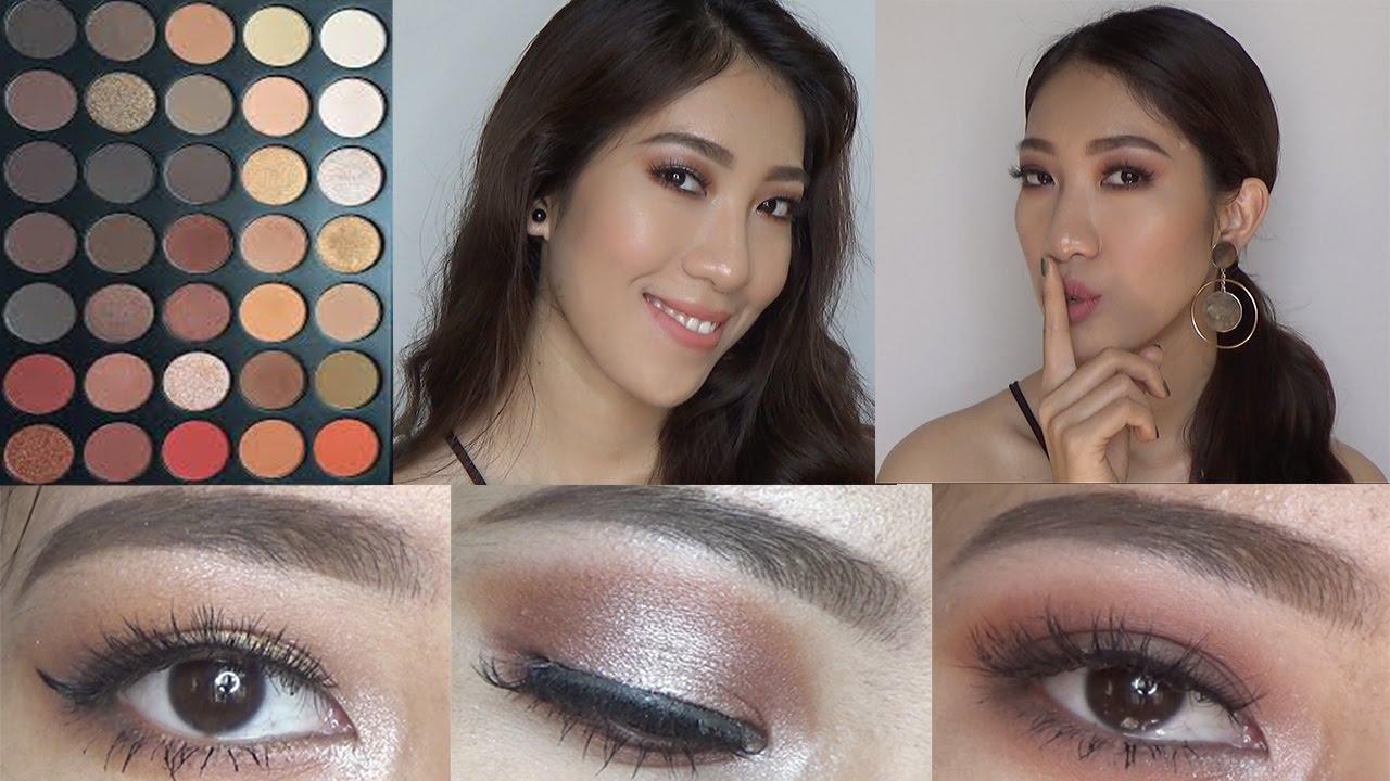 Trang Điểm Mắt Với Bảng Mắt Morphe 350 – 3 Look Using Morphe 350 Palette [ VANMIU BEAUTY ]