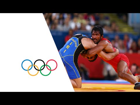 Wrestling Men's FR 60kg Repechage Round 2 - India v Iran - Full Replay | London 2012 Olympics